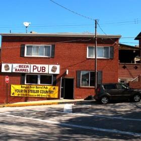 Steeler Country Beer Barrel Pub